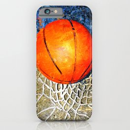 Basketball art swoosh 88 iPhone Case