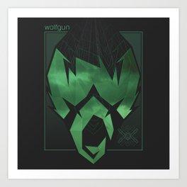 Wolfgun - Projections Art Print