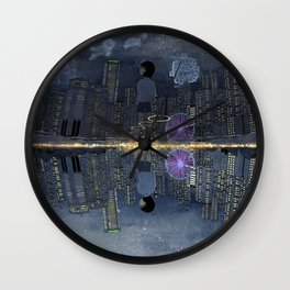 童話與現實的邊緣 Living between Fairy Tale and Reality Wall Clock