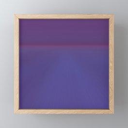 Majestic Royal Purple Hues Framed Mini Art Print