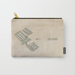Treasure Map - 45th Chamber Carry-All Pouch