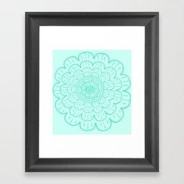 minty fre$h Framed Art Print