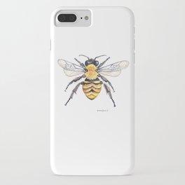 Watercolor Bee iPhone Case