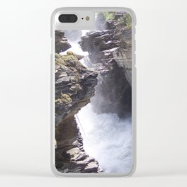 Torrent Clear iPhone Case