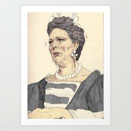 Anne, Queen of Great Britain Art Print