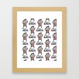 mmm bacon Framed Art Print
