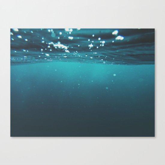 Enter Sea Canvas Print