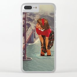 mesmerized Clear iPhone Case