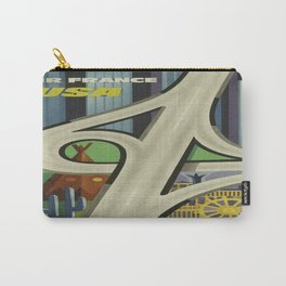 Vintage poster - USA Carry-All Pouch