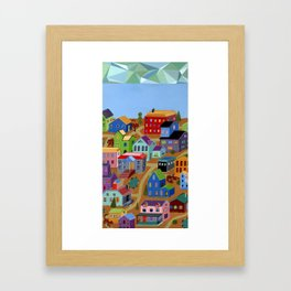 Tigertown Framed Art Print