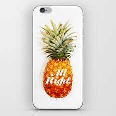 All Right. (Tropical) iPhone & iPod Skin