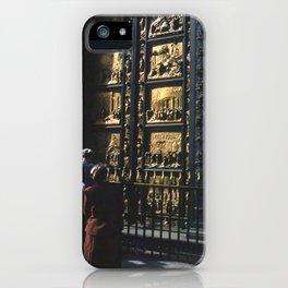 Vintage Color Photo * Kodachrome * 1950's * Paradise Doors * Florence * Italy * Italian iPhone Case