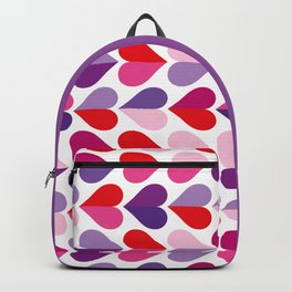 Love and Kisses in Ultra Violet Backpack