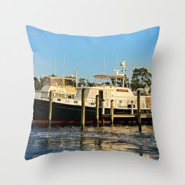 Shoreline in Fort Myers IV Throw Pillow
