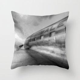 Malev Airlines Lisunov Li-2 Throw Pillow