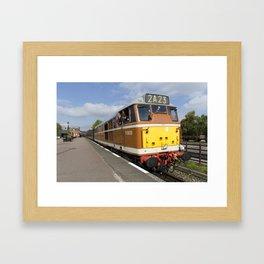 Diesel loco 5830 Framed Art Print