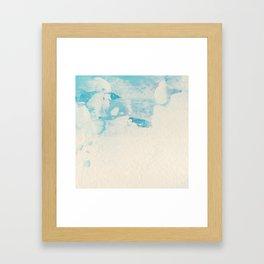 Blue Ice Framed Art Print