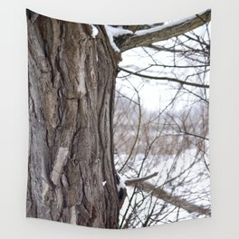 Strong Timbers Wall Tapestry