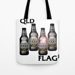 Queensland Flag xxxx Tote Bag