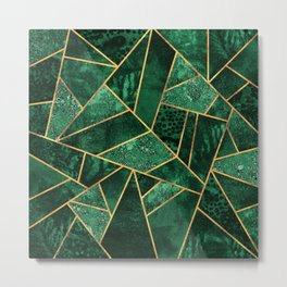 Deep Emerald Metal Print