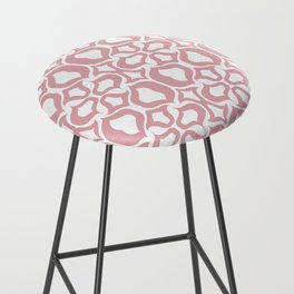 Pink Tulize Bar Stool