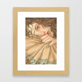 Jane Austen, Mansfield Park - Fanny Framed Art Print