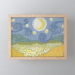 Starry Mother Nature Framed Mini Art Print