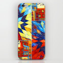 Colorful City iPhone Skin