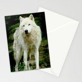 Grey Wolf Stationery Cards