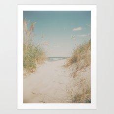 Ocean Isle Art Print