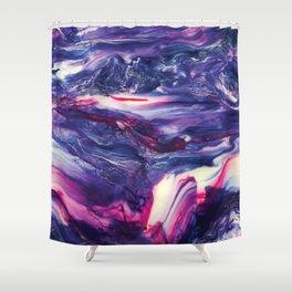 Hypnotic Hybrid - Painting Shower Curtain