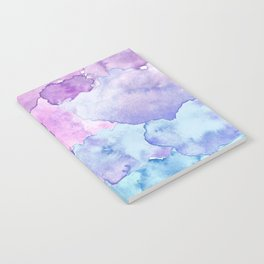 Watercolor clouds Notebook