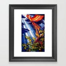 Ivan Tsarevich and the Phoenix Framed Art Print