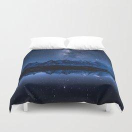 Night mountains Duvet Cover