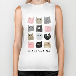 Catisfaction No. 1 Biker Tank