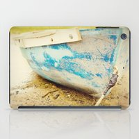 cape cod iPad Cases featuring cape cod blue by Finch & Maple