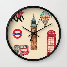 Quintessentially British Wall Clock