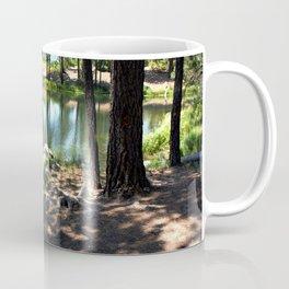 Cold, Clear Waters of Remote Forebay Lake Coffee Mug