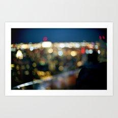 New York City Blinding Lights Art Print