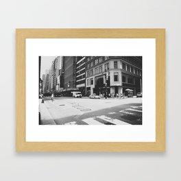Fifth avenue Framed Art Print