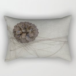 pine cone Rectangular Pillow