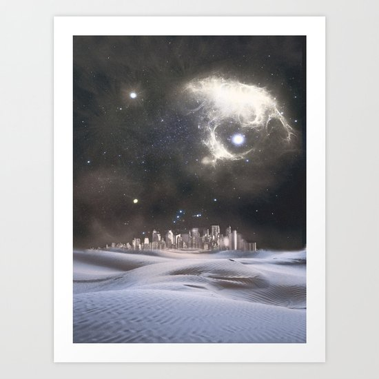 desert city Art Print