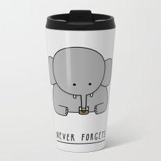 An Elephant Metal Travel Mug