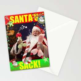 Santa's Sack Stationery Cards