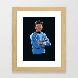 Doctor man Framed Art Print