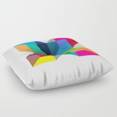 The Intersection Floor Pillow