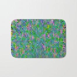 Pixel City Bath Mat