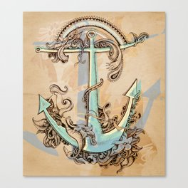Varuna's anchor Canvas Print