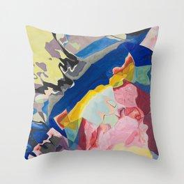 Color Milkshake Throw Pillow