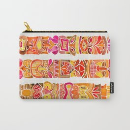 Tiki Totems – Fiery Palette Carry-All Pouch
